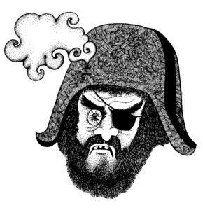 pirata, autosvezzamento