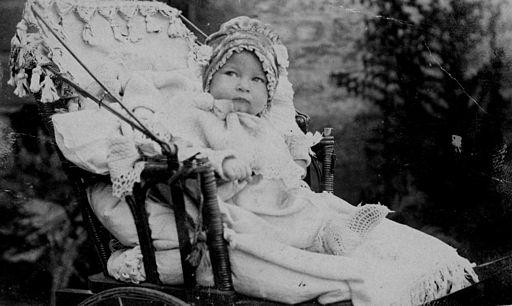 bambino carrozzina 1900