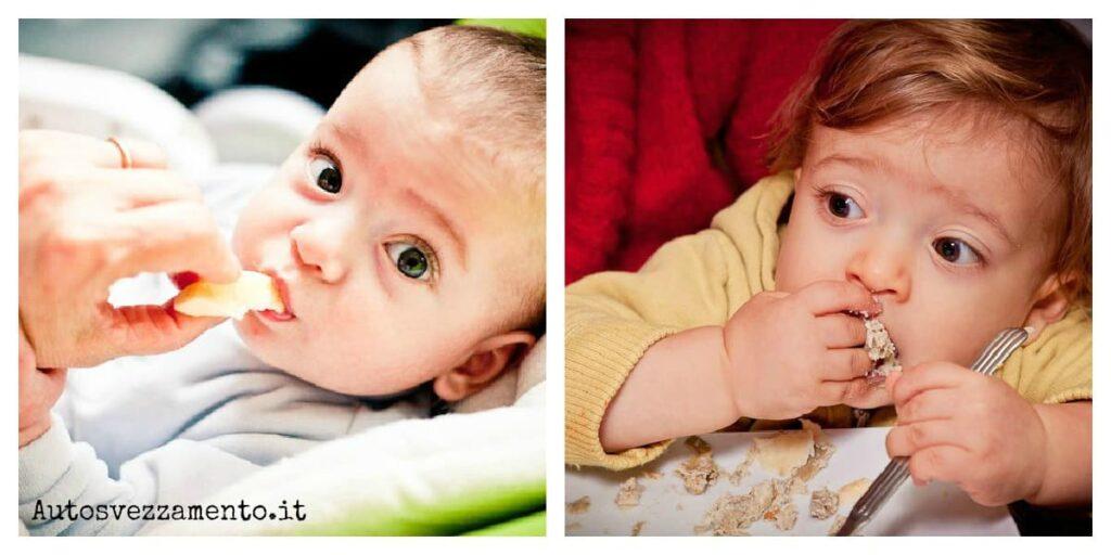 svezzamento, autosvezzamento, gemelli, 6 mesi, 16 mesi