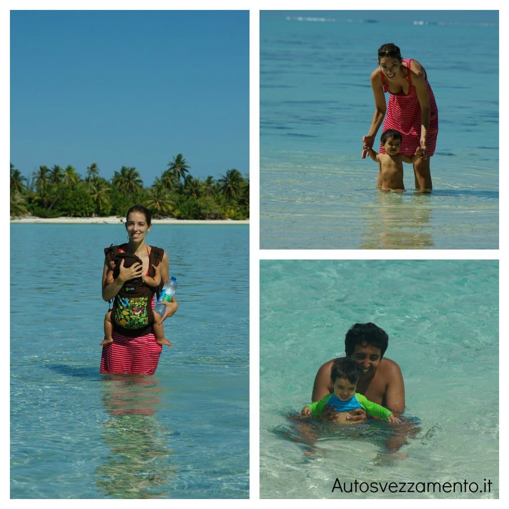 Bambina mare Polinesia Autosvezzamento 8 mesi