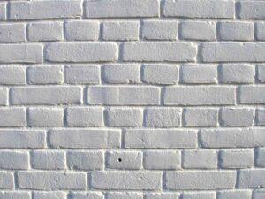 muro di mattoni autosvezzamento