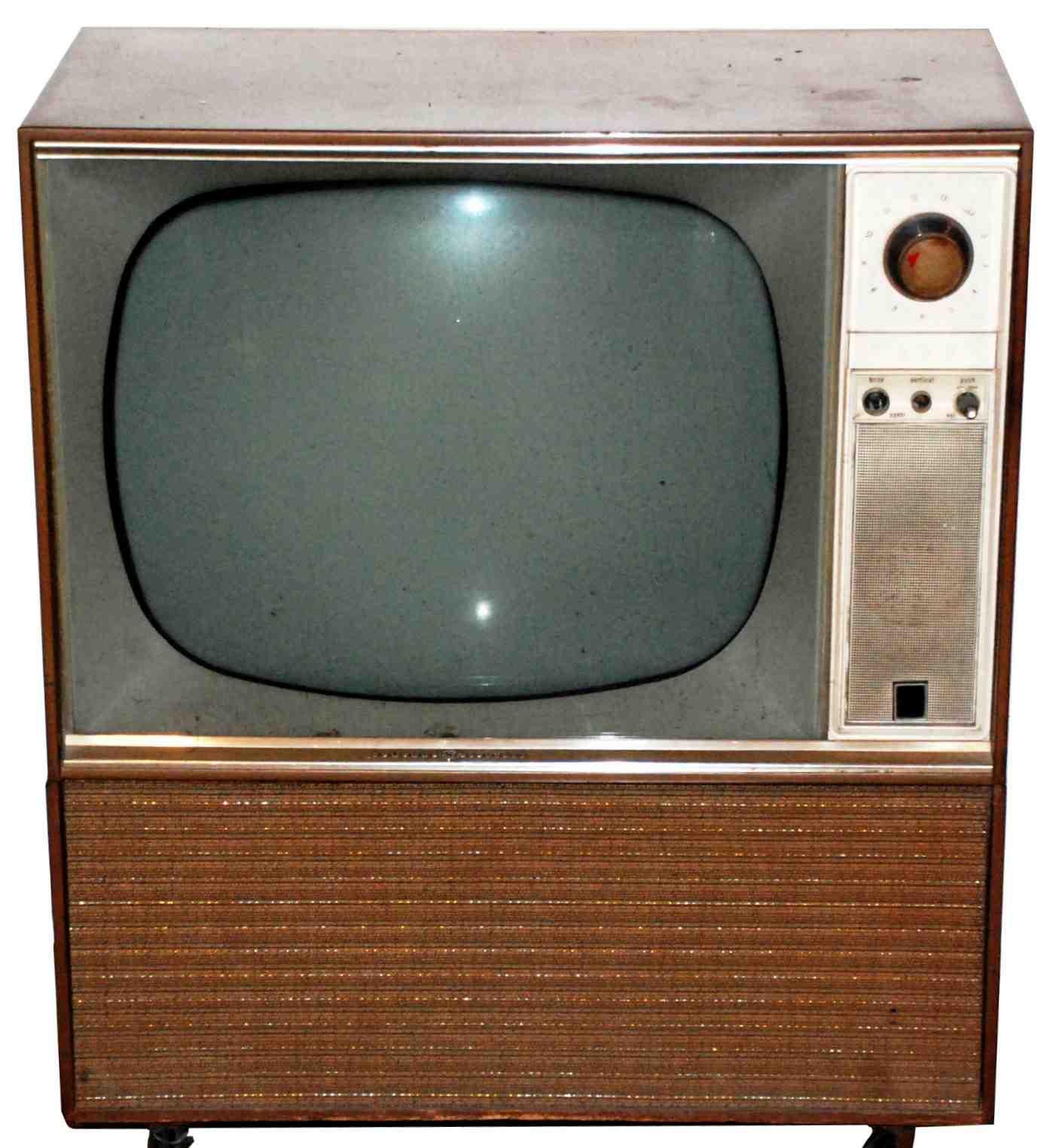 Televisore vecchio stampo autosvezzamento