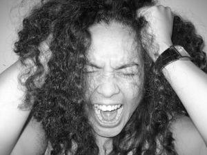 Donna che urla autosvezzamento