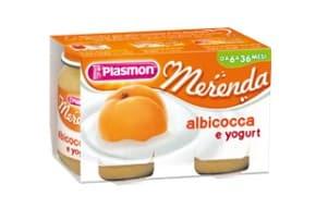 merenda albicocca-yogurt plasmon autosvezzamenrto