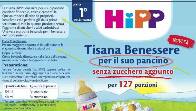 TIsana benessere Hipp autosvezzamento