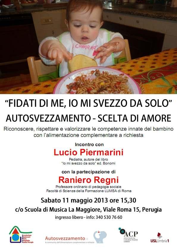 Locandina incontro Piermarini Perugia 11 maggio