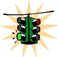 Semaforo verde soffocamento