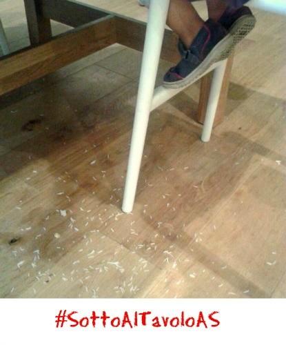 #SottoAlTavoloAS riso!!