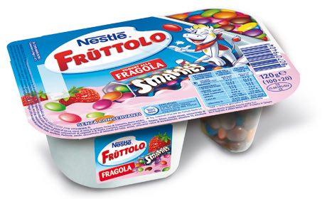 Fruttolo yogurt smarties junk food autosvezzamento