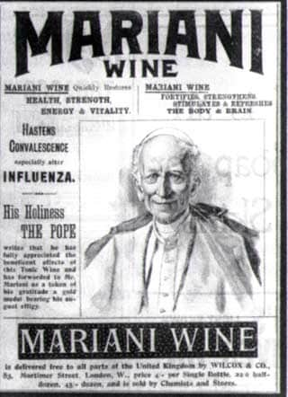 Papa sponsorizza un tonico miracoloso