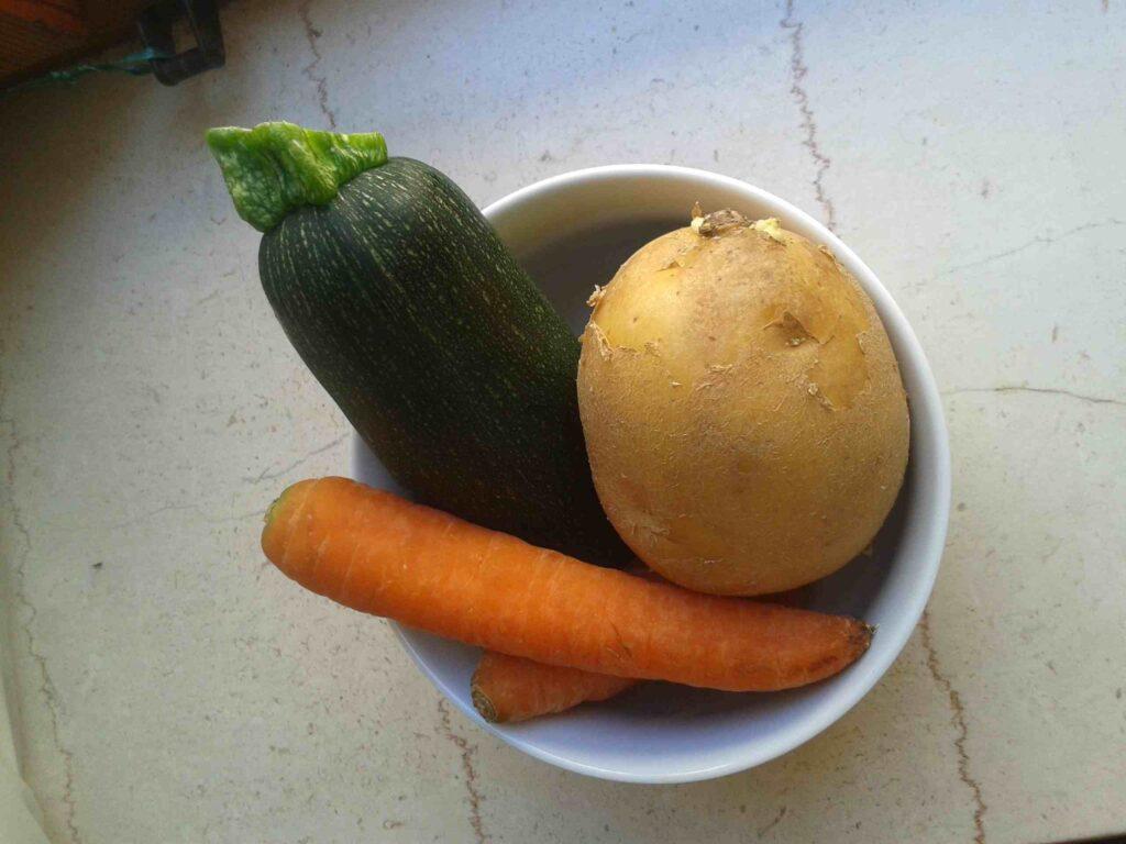 Contenuto brodo vegetale