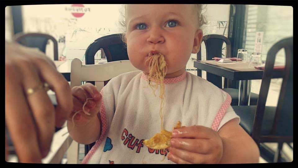 buoni gli spaghetti di riso con verdure....😍😍😍