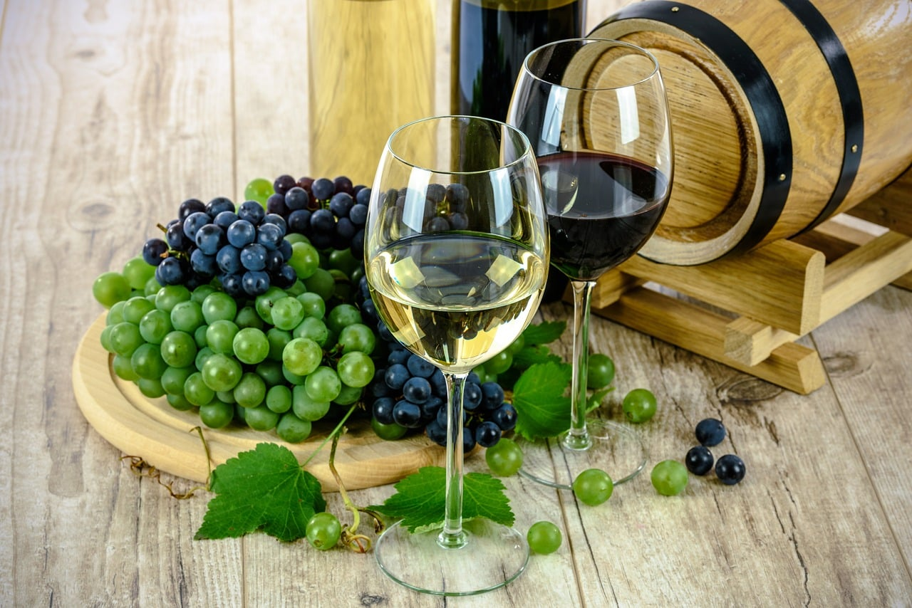 cucinare con il vino residuo di alcol