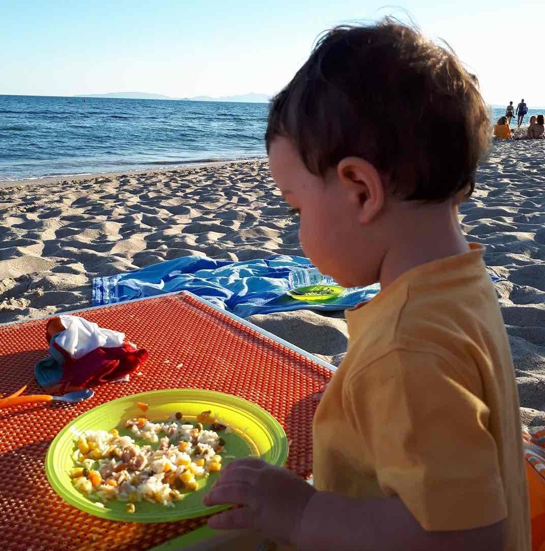 pranzo al sacco al mare