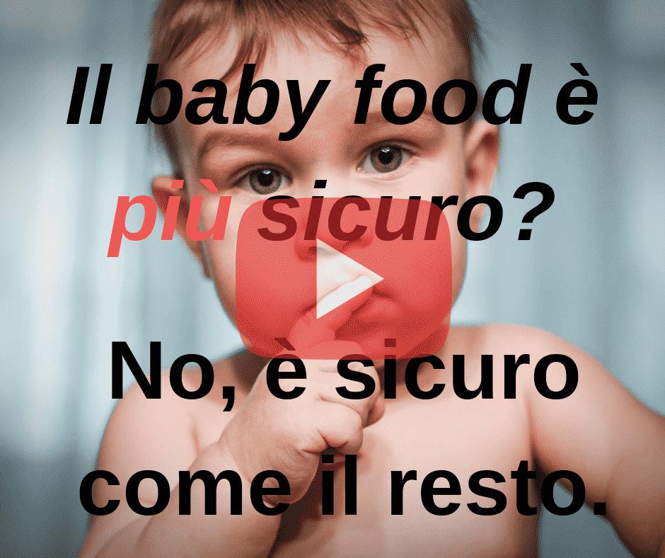 sicurezza cibo bambini svezzamento