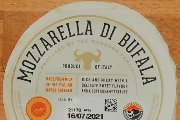 tagli sicuri mozzarella di bufala